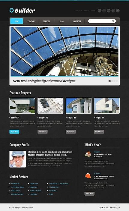 Joomla Theme/Template 40606 Main Page Screenshot