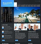 Real Estate Flash CMS  Template 40622