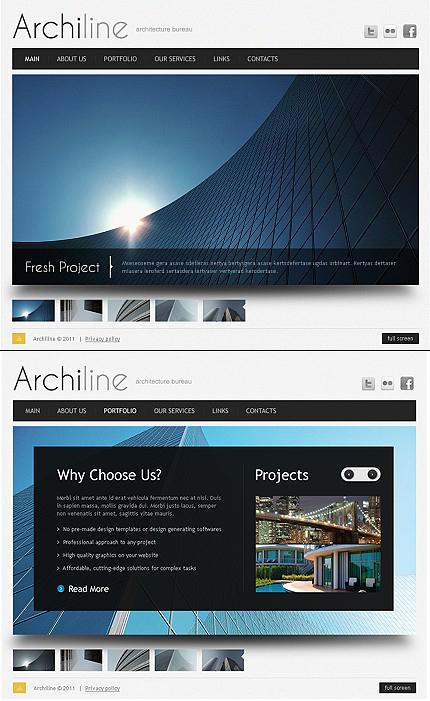 ADOBE Photoshop Template 40625 Home Page Screenshot
