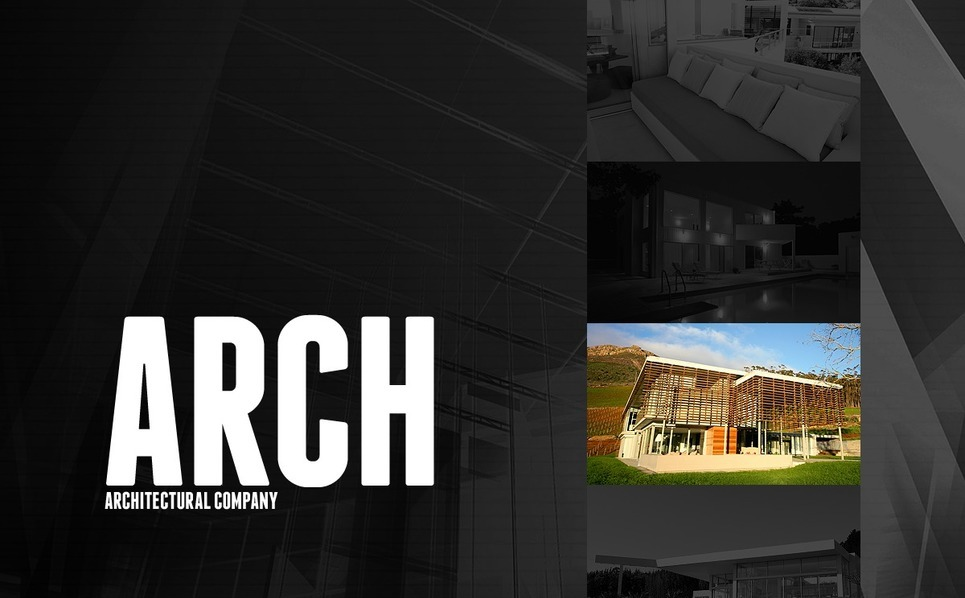 Szablon Flash CMS #40626 na temat: architektura New Screenshots BIG