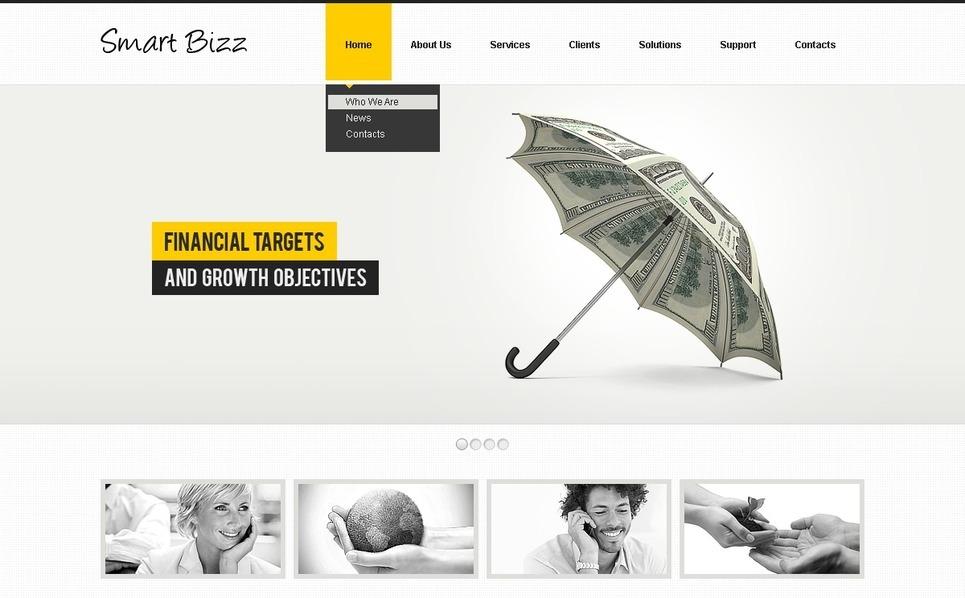 Modello Flash CMS  #40628 per Un Sito di Business e Servizi New Screenshots BIG