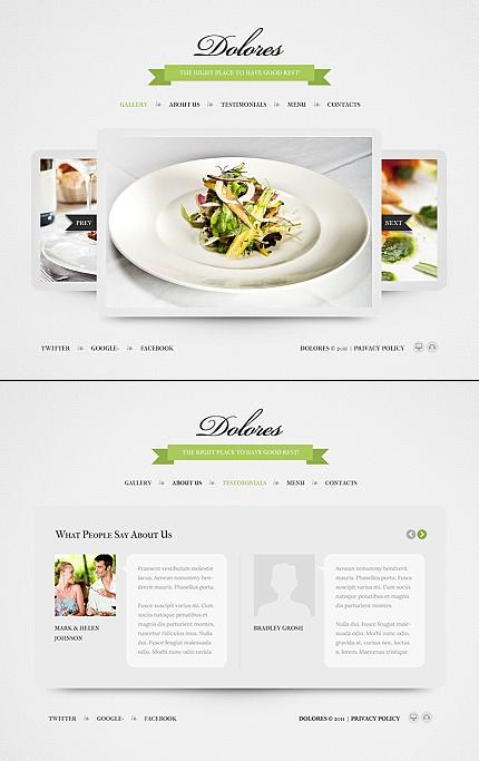 ADOBE Photoshop Template 40629 Home Page Screenshot
