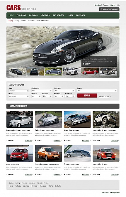 Template #40636 Sell & Flash Cms Template with Video - MotoCMS