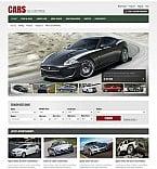 Cars Flash CMS  Template 40636