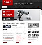 Security Flash CMS  Template 40637