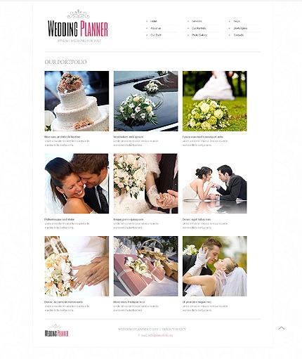 Template 40649 ( Our Portfolio Page ) ADOBE Photoshop Screenshot