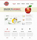 Web design Joomla  Template 40664