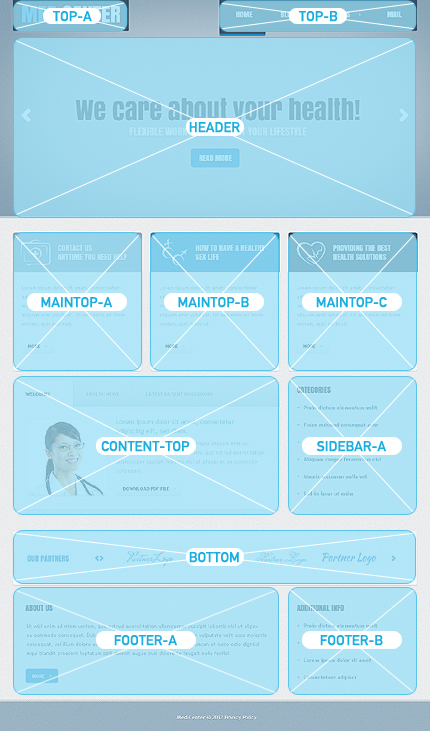 Joomla Theme/Template 40670 Main Page Screenshot