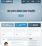 Medical Joomla  Template 40670