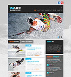 Sport Website  Template 40679