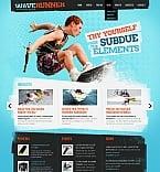 Sport Moto CMS HTML  Template 40690