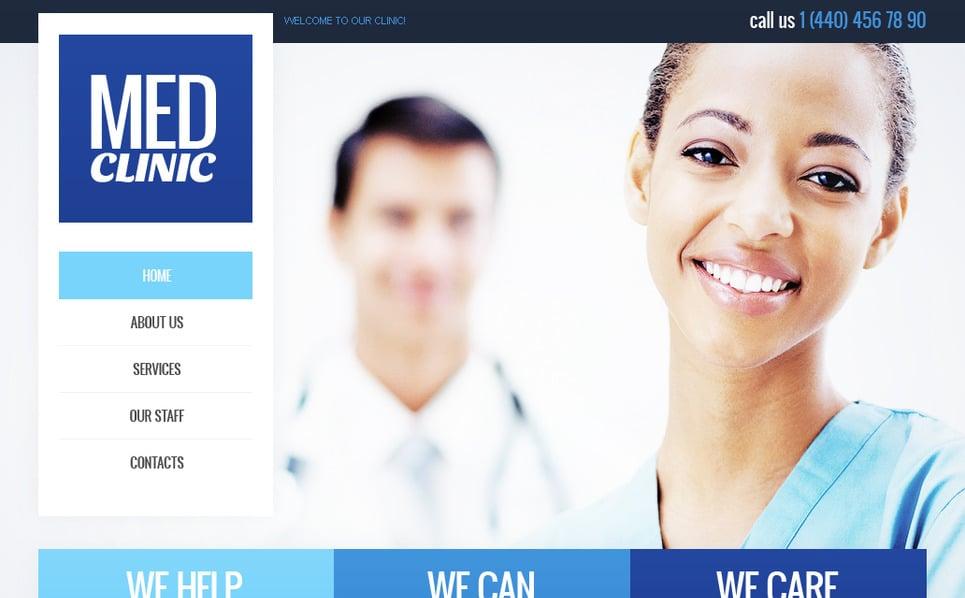 Plantilla Moto CMS HTML #40691 para Sitio de Medicina New Screenshots BIG