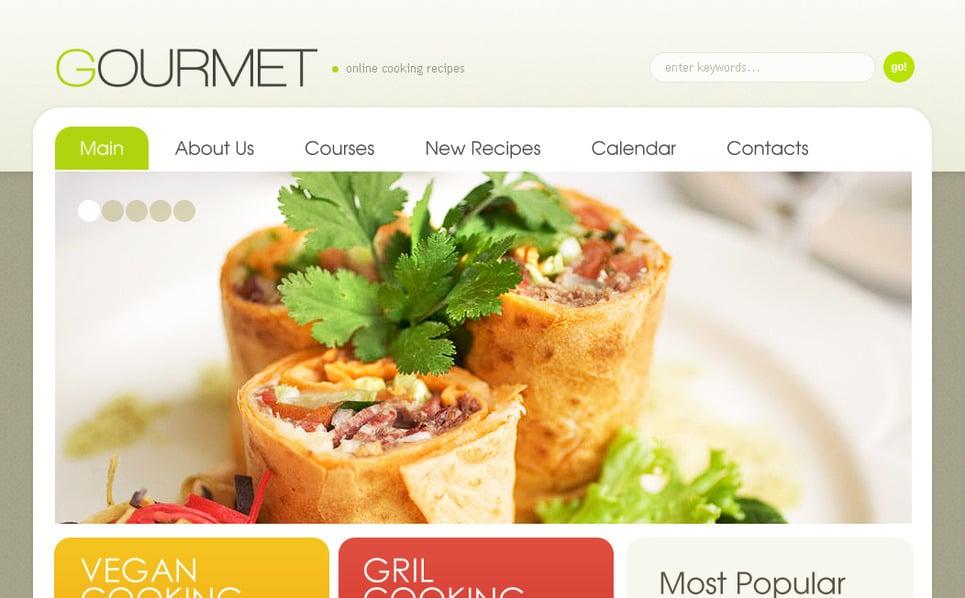 Moto CMS HTML Vorlage für Cafe und Restaurant  New Screenshots BIG