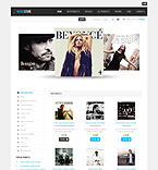 Music osCommerce  Template 40696