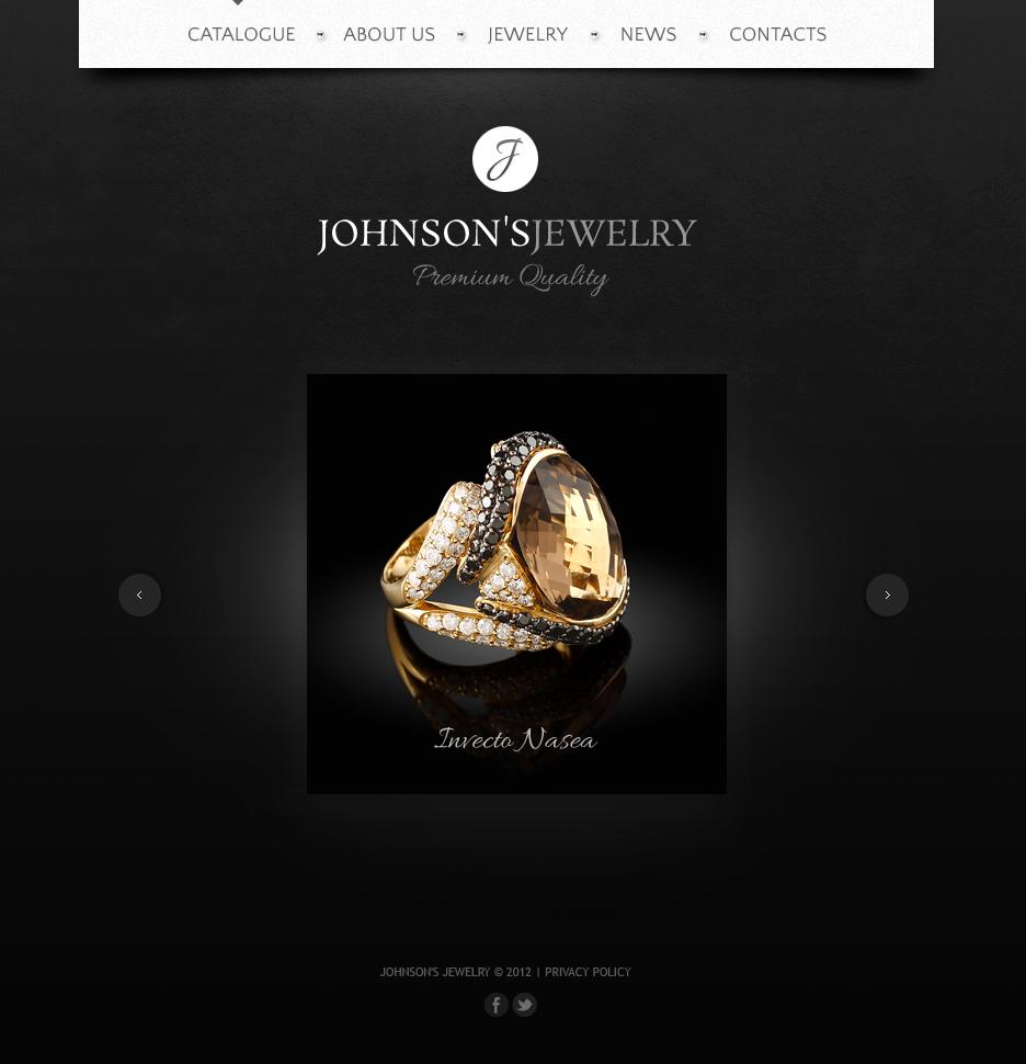 Jewelry Moto CMS HTML Template