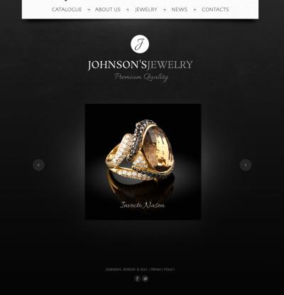 Jewelry Moto Cms Html Templates