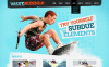 Szablon Moto CMS HTML #40690 na temat: surfing New Screenshots BIG
