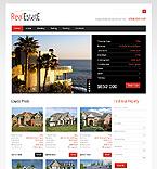 Real Estate Website  Template 40700