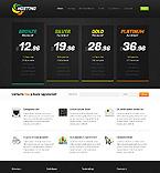 Web Hosting Website  Template 40703