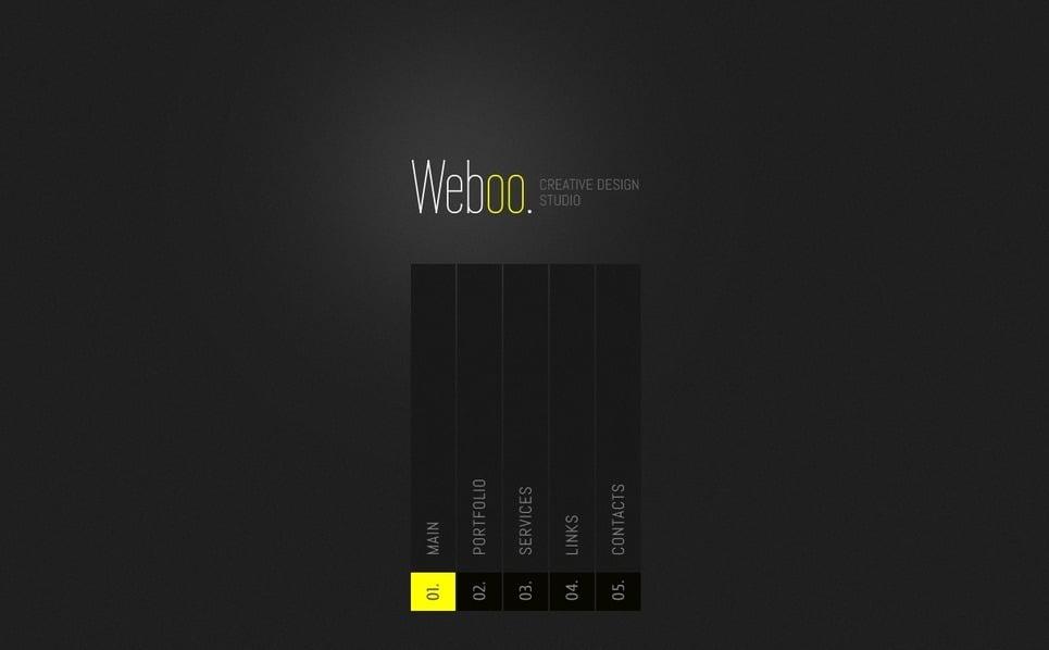 Design studiók  Weboldal sablon New Screenshots BIG