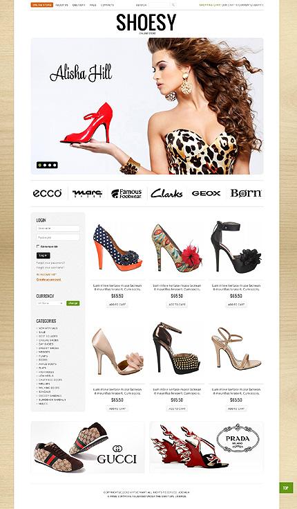 ADOBE Photoshop Template 40726 Home Page Screenshot