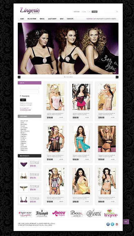 ADOBE Photoshop Template 40728 Home Page Screenshot