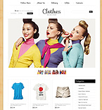 Fashion VirtueMart  Template 40729