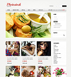 Art & Photography VirtueMart  Template 40730