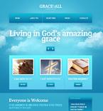 Religious Website  Template 40747
