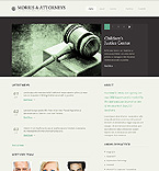 Law Website  Template 40754