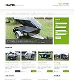 Travel Website  Template 40756