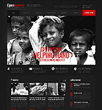 Charity Website  Template 40758