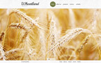 Agriculture Website  Template 40762