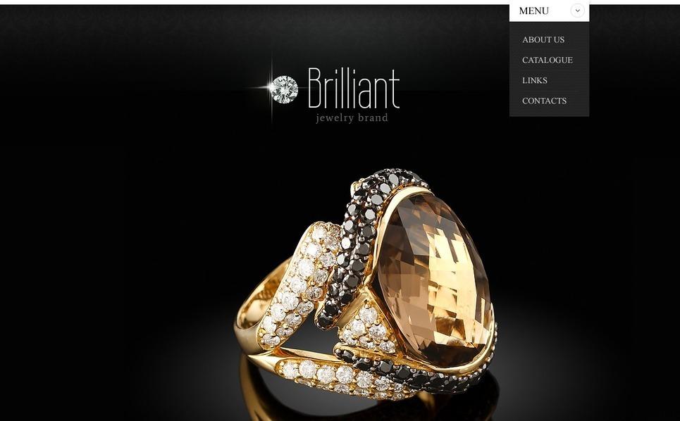 Szablon Strona Www #40763 na temat: biżuteria New Screenshots BIG