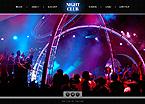 Night Club Website  Template 40767