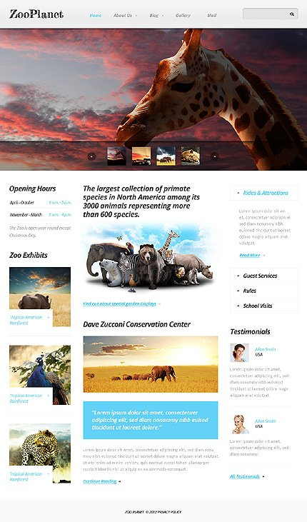 Drupal Template 40771 Main Page Screenshot