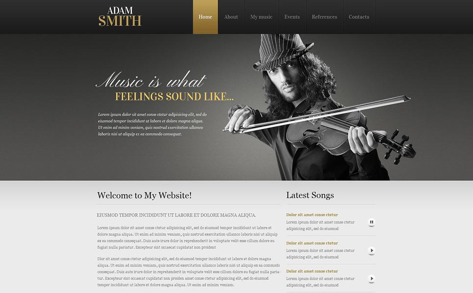 Šablona webových stránek Osobní stránky New Screenshots BIG