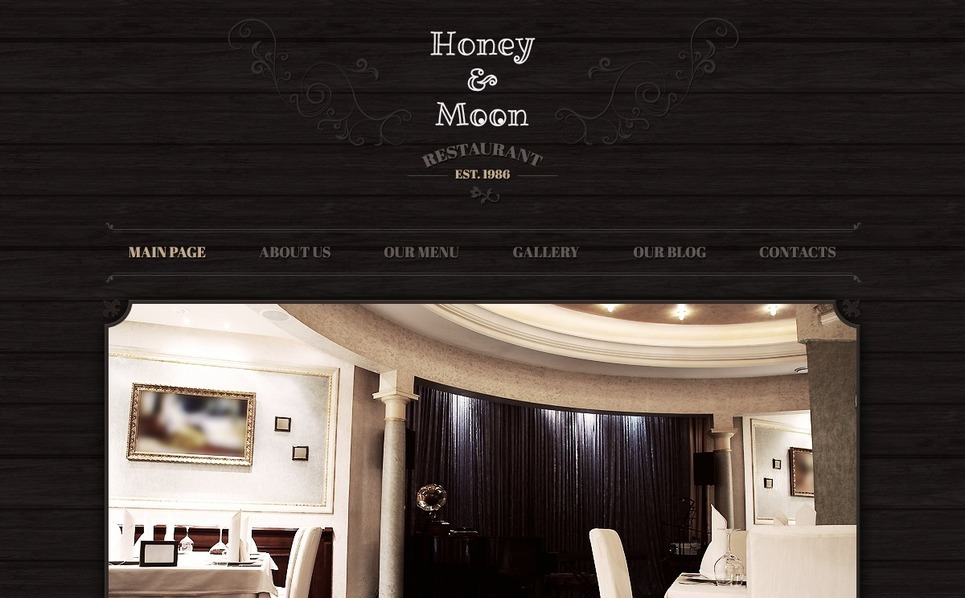 Joomla Template over Café en Restaurant New Screenshots BIG