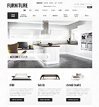 Furniture osCommerce  Template 40812