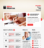 Personal Page Website  Template 40824