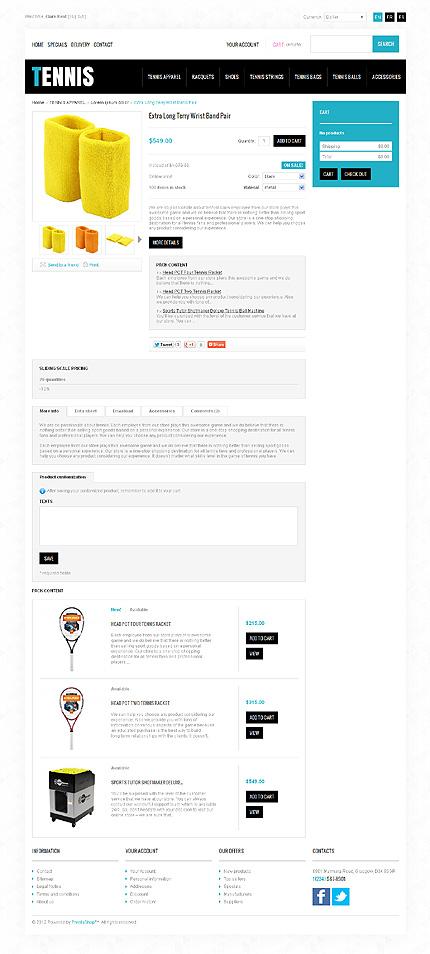 ADOBE Photoshop Template 40831 Home Page Screenshot