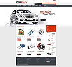 Cars PrestaShop Template 40832