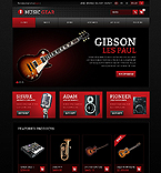 Music PrestaShop Template 40833