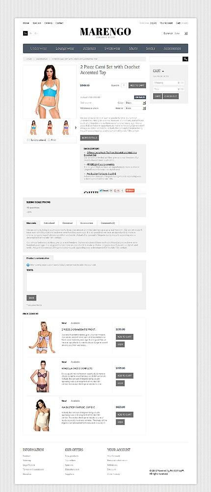 ADOBE Photoshop Template 40837 Home Page Screenshot