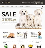 Animals & Pets OpenCart  Template 40840