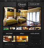 Hotels Website  Template 40858