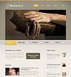 Religious Website  Template 40861