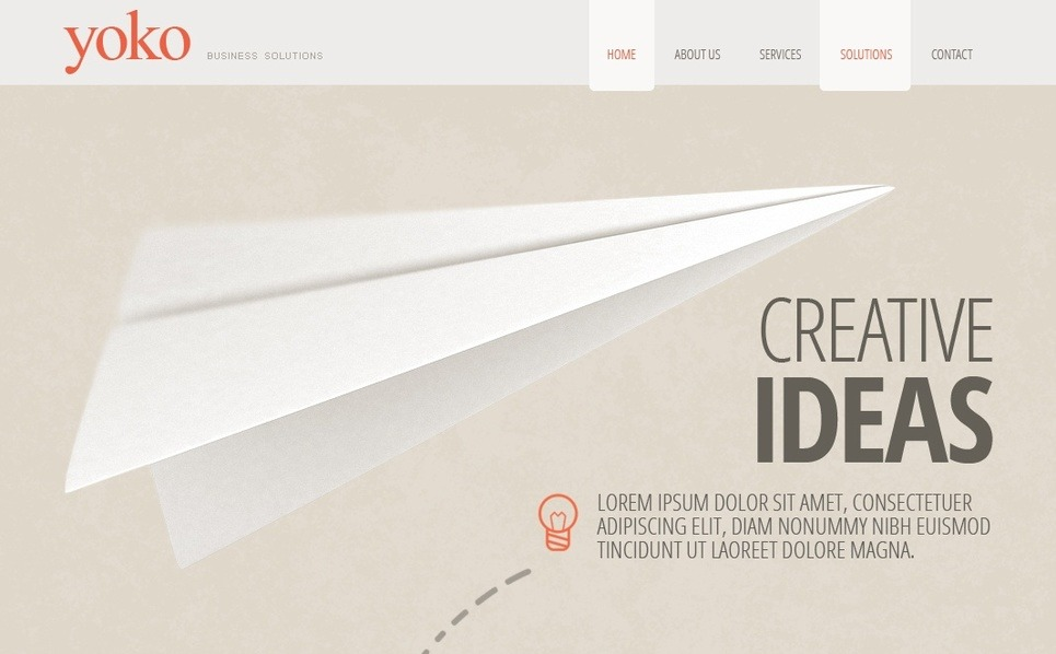 Moto CMS HTML Template over Business & Diensten New Screenshots BIG