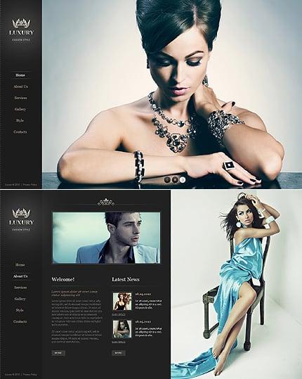 ADOBE Photoshop Template 40876 Home Page Screenshot
