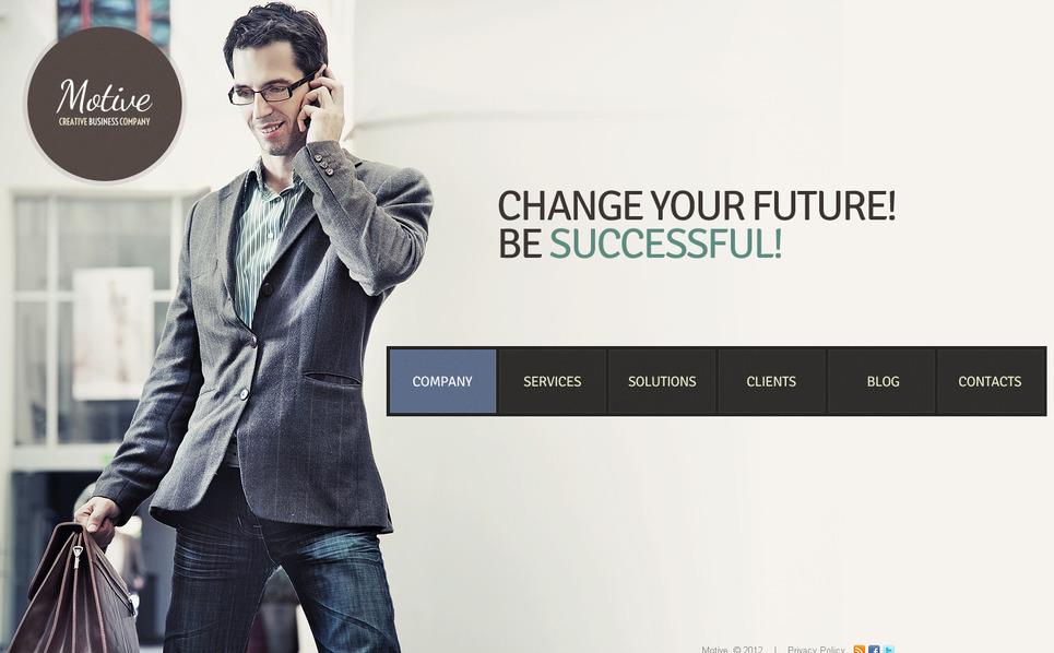 商业与服务Moto CMS HTML模板 New Screenshots BIG